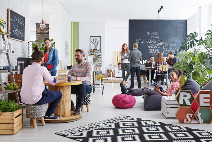 6 Cool Office Designs That Make Working Fun Businessorg