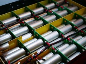 Inner packs of lithium car batteries