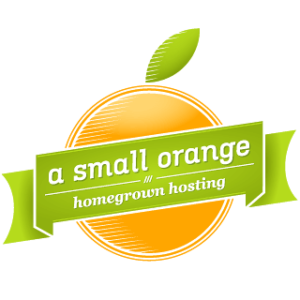 small orange logo