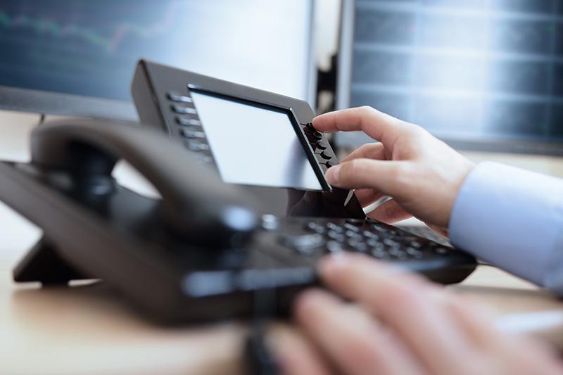 Dialing telephone keypad