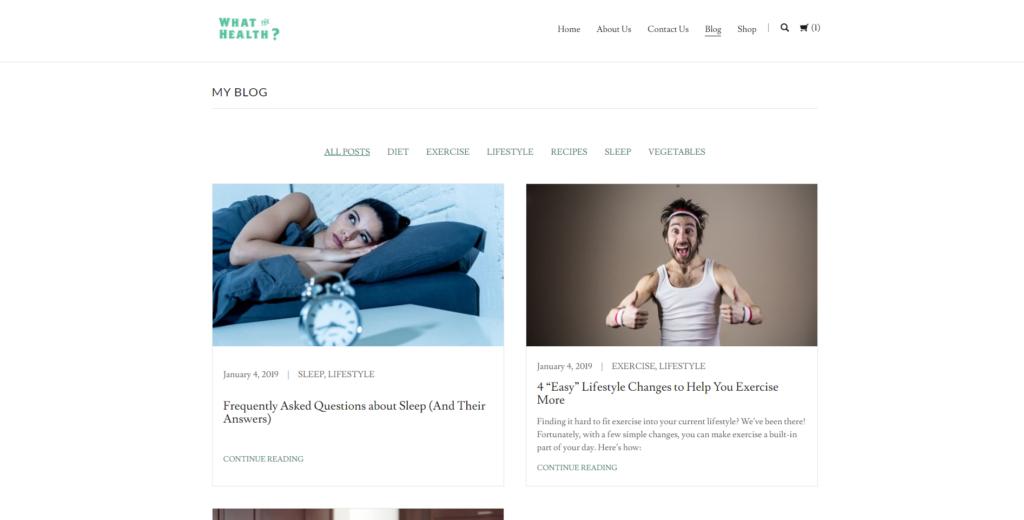 Our GoDaddy blog