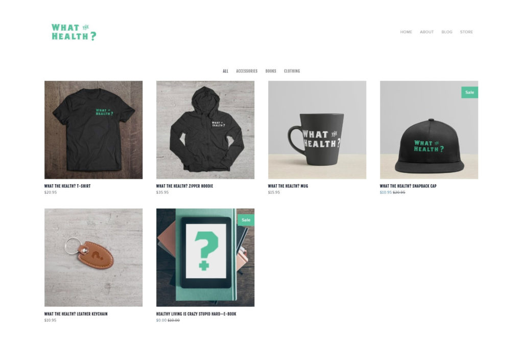 squarespace ecommerce store